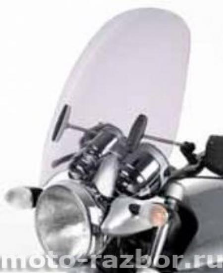 Крепление ветрового стекла мотоцикла